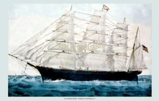 Clipper Ship - the Great Republic